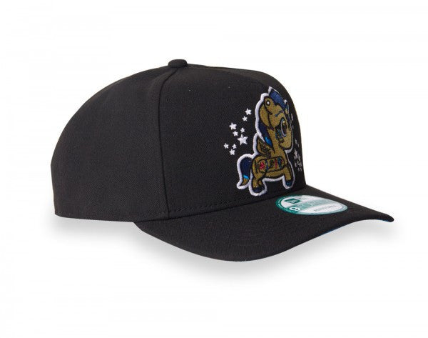 tokidoki - Cleo Snapback Hat, Black - The Giant Peach - 5