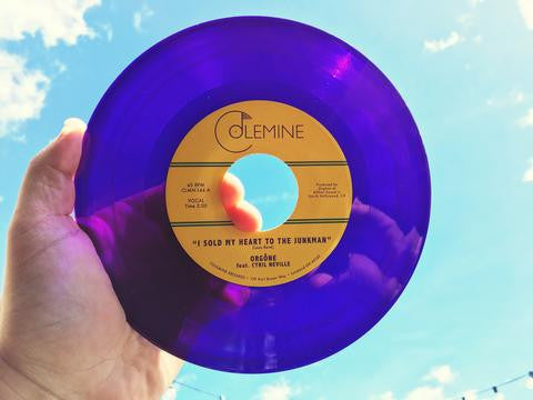 "Orgone - I Sold My Heart To The Junkman, 7"" Purple Vinyl"
