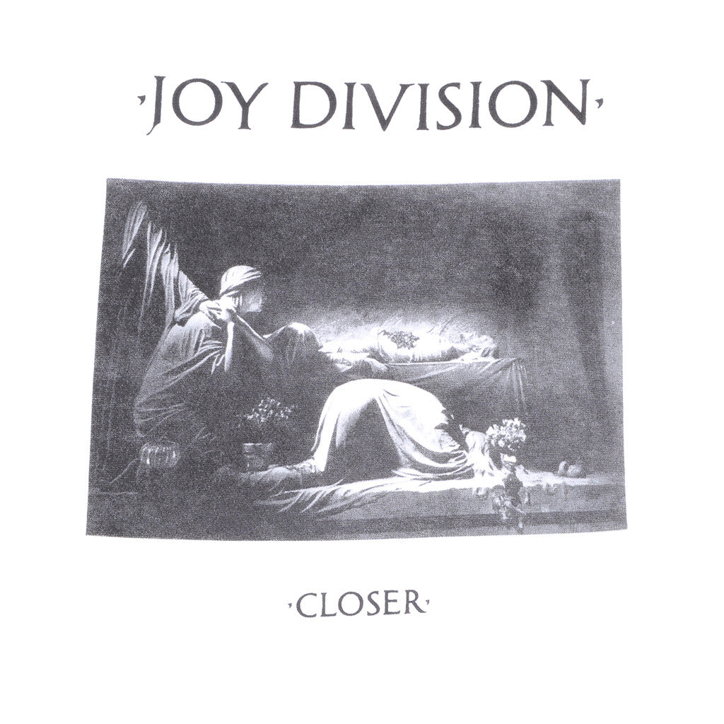 Joy Division - Closer Men's Shirt, White - The Giant Peach