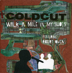 "Coldcut - Walk A Mile In My Shoes, 12"" Vinyl - The Giant Peach"