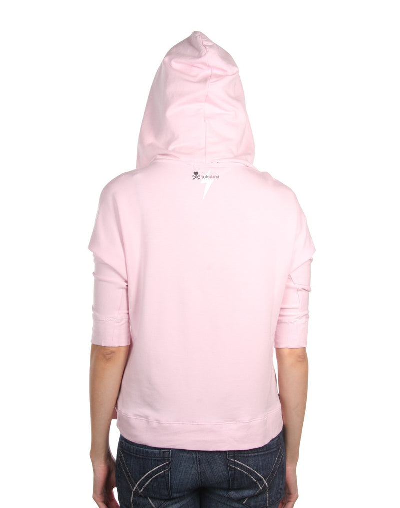 tokidoki - Cool Diamante Women's Hoodie, Pale Pink - The Giant Peach