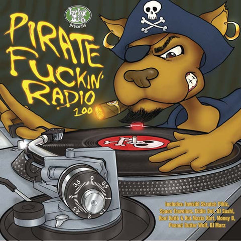 V/A - Pirate Fuckin' Radio 100, CD