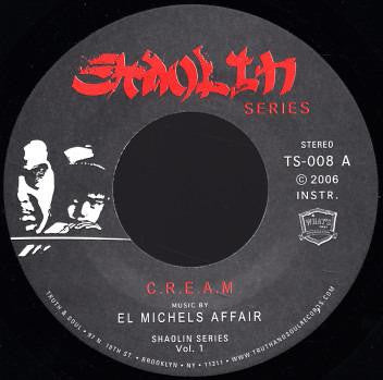 "El Michels Affair - C.R.E.A.M. 7"" Vinyl - The Giant Peach"