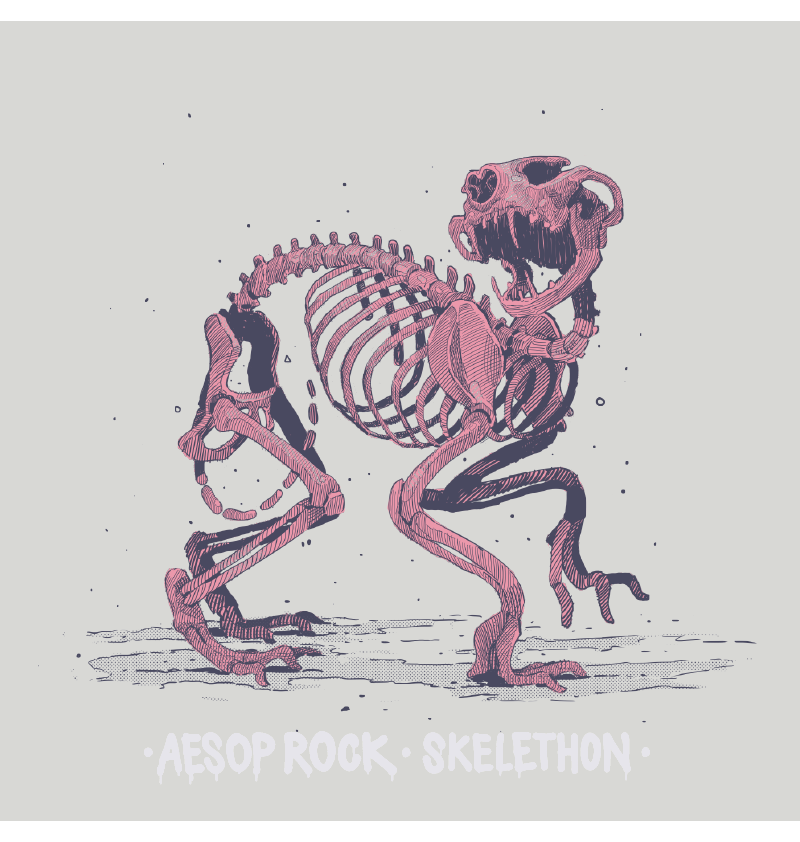 Aesop Rock - Skelethon Women's Shirt, Creme - The Giant Peach - 2