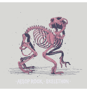 Aesop Rock - Skelethon Women's Shirt, Creme - The Giant Peach