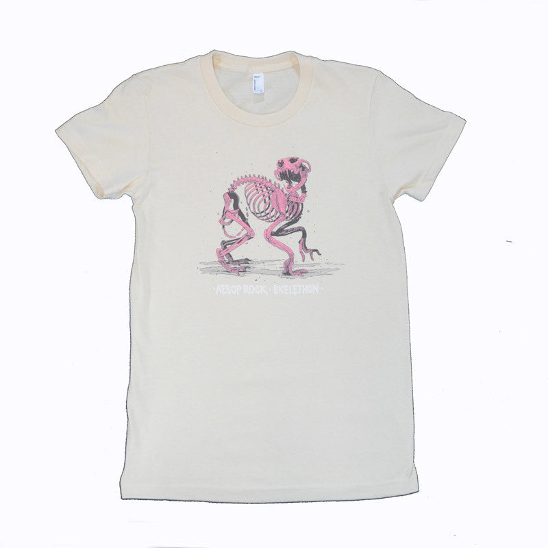 Aesop Rock - Skelethon Women's Shirt, Creme - The Giant Peach - 1