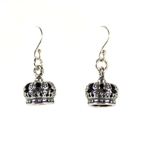 Minx - Crown Earrings, Sterling Silver - The Giant Peach