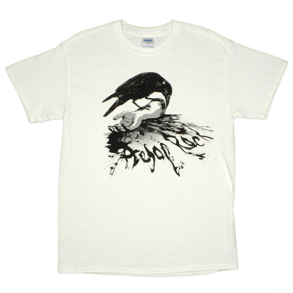 Aesop Rock - Crow Men's Shirt, White - The Giant Peach - 1