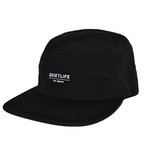 The Quiet Life - Crush Men's 5 Panel Camper Hat, Black