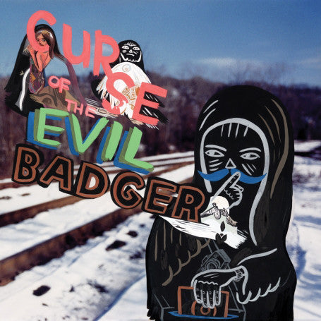 Egon - Curse Of The Evil Badger (Re-Issue), LP Vinyl - The Giant Peach