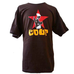 The Coup - Official Men's Shirt, Brown - The Giant Peach