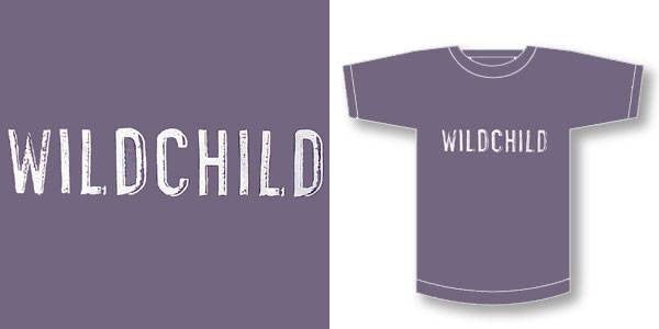 Wildchild - Logo Men's Shirt, Charcoal - The Giant Peach