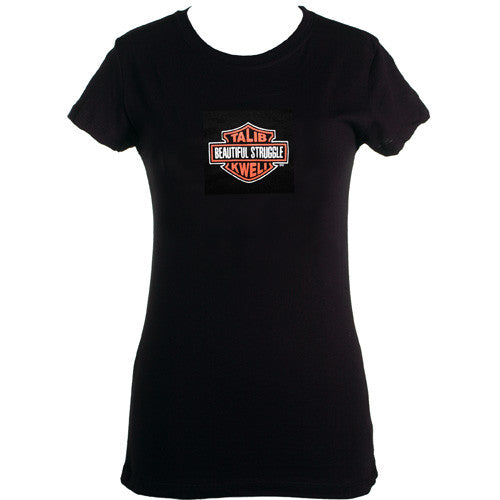 Spitkicker - Talib Kweli Beautiful Struggle Women's Shirt, Black - The Giant Peach