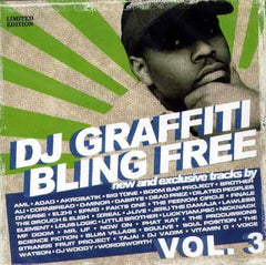 DJ Graffiti - Bling Free Volume 3, CD - The Giant Peach
