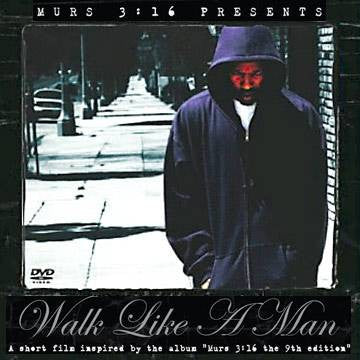 Murs 3:16 Presents Walk Like A Man CD+DVD, Jewel Case