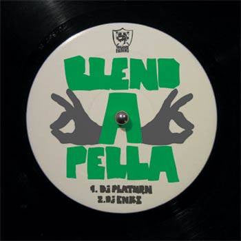 DJ Enki & DJ Platurn - Blendapella, Mixed CD - The Giant Peach