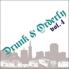 DJ Similak Chyld - Drunk & Orderly Vol. 4, Mixed CD - The Giant Peach