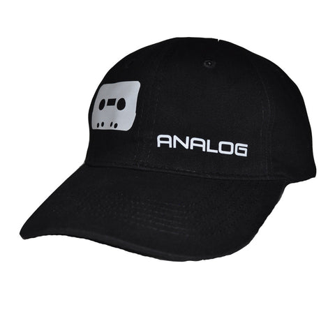 Not Digital Dad Hat, Black with White
