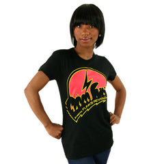 101 Apparel x Dam Funk - Funk's Revenge Women's Shirt, Black - The Giant Peach