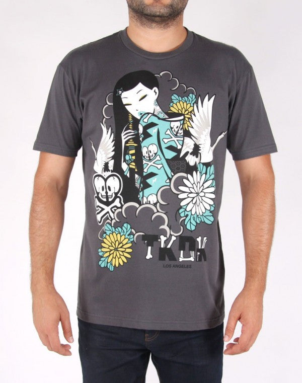 tokidoki TKDK - Dark and Stormy Men's Shirt, Storm - The Giant Peach - 1