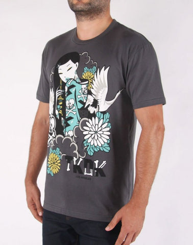 tokidoki TKDK - Dark and Stormy Men's Shirt, Storm
