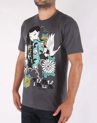 tokidoki TKDK - Dark and Stormy Men's Shirt, Storm - The Giant Peach