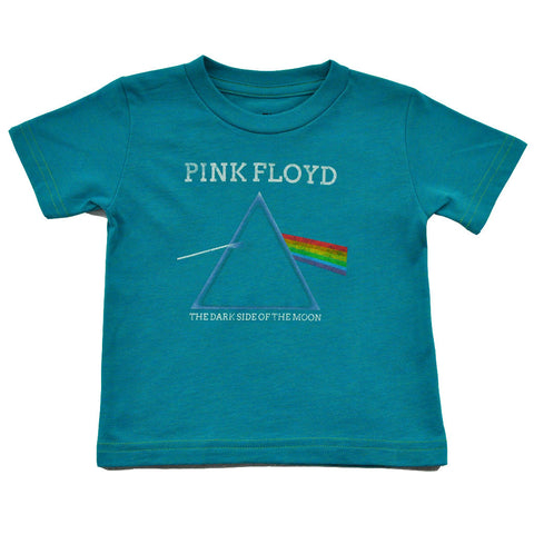 Pink Floyd - The Dark Side Infant & Toddler Tee, Teal