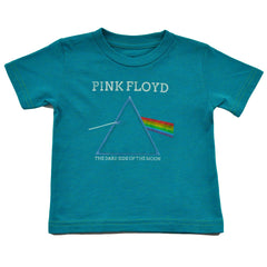 Pink Floyd - The Dark Side Infant & Toddler Tee, Teal - The Giant Peach