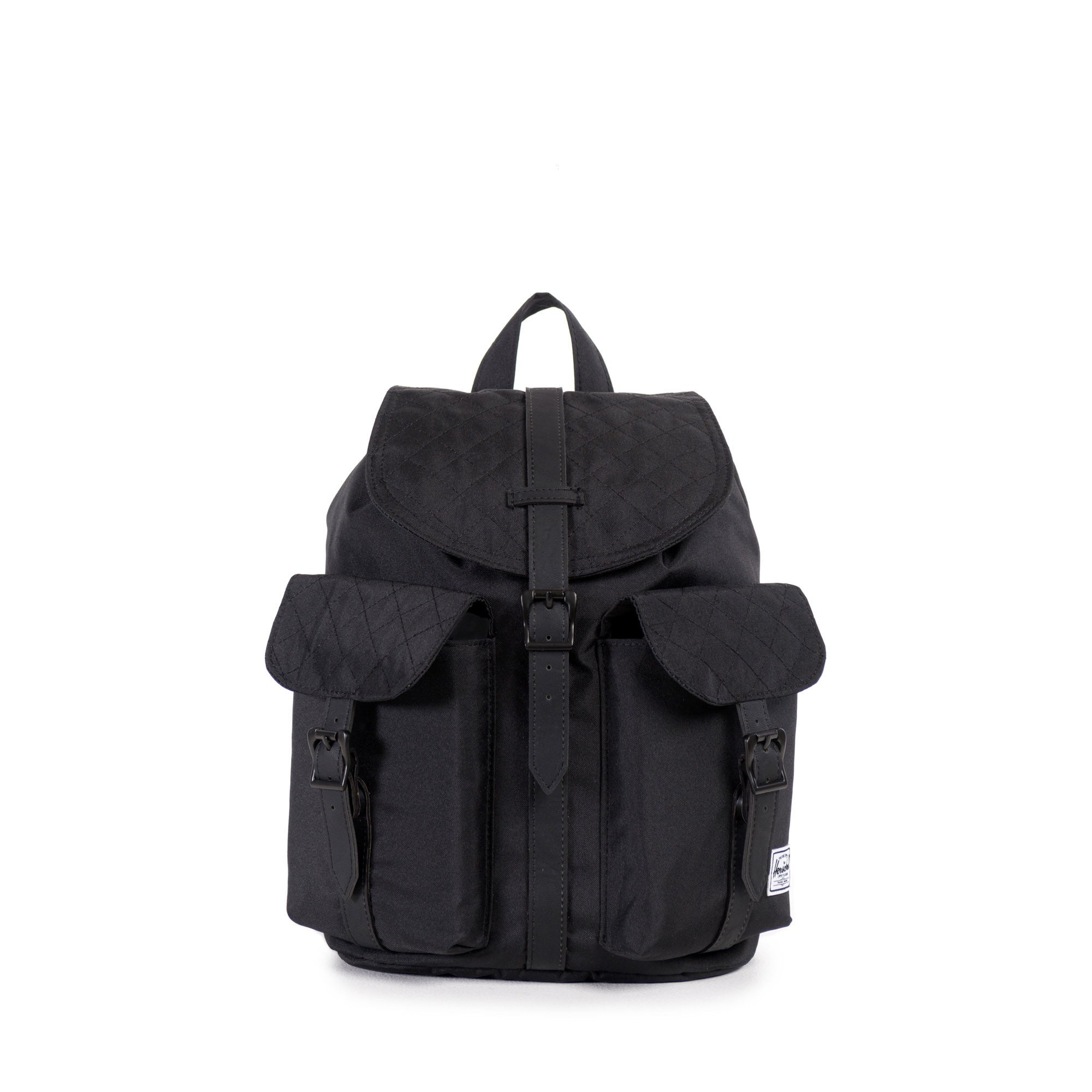 Herschel Supply Co. - Dawson Mid-Volume Backpack, Black Quilted - The Giant Peach