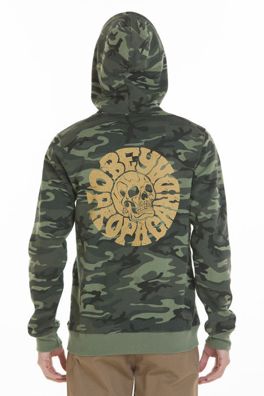 OBEY - Death Trip Men's Hoodie, Camo - The Giant Peach