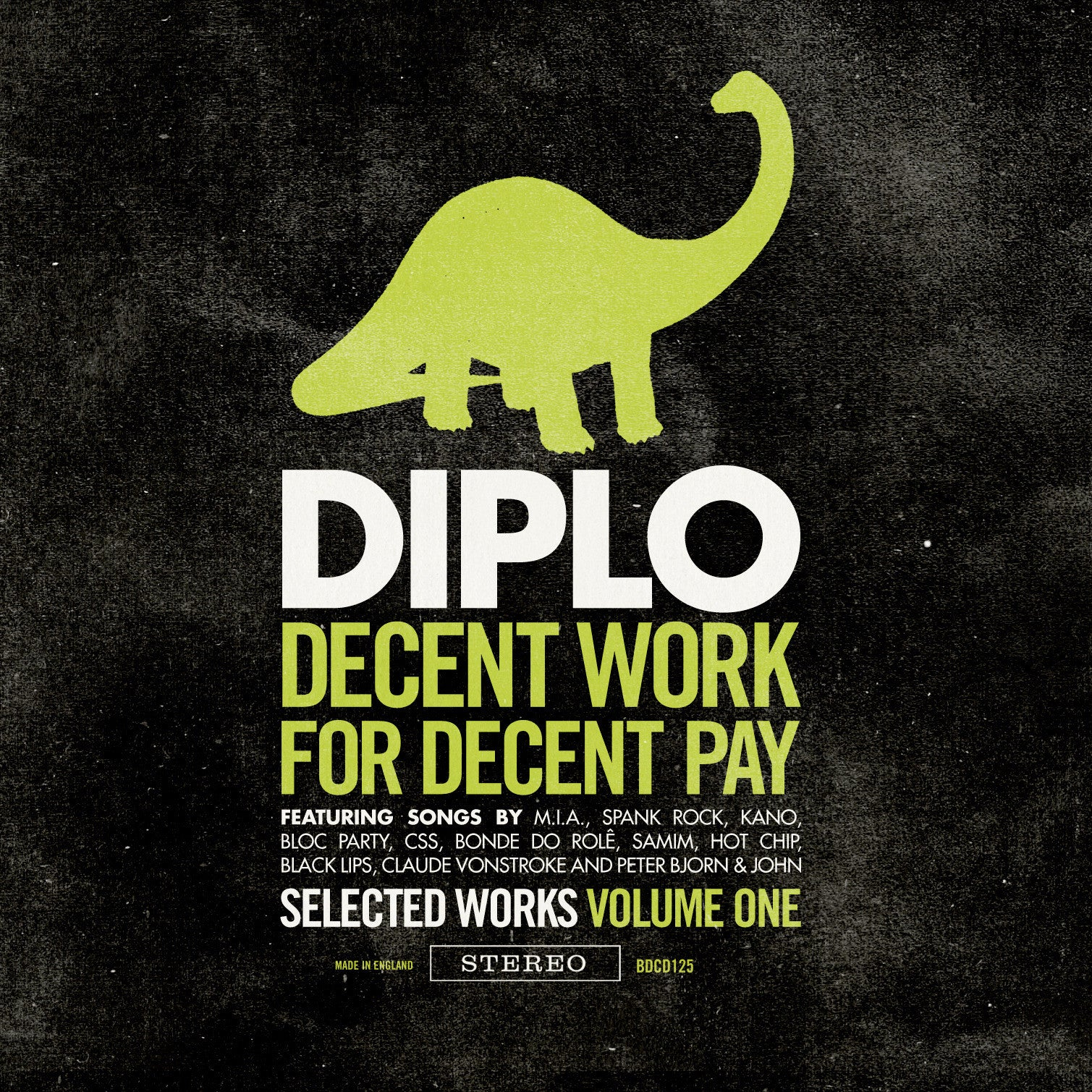 Diplo - Decent Work 4 Decent Pay, CD - The Giant Peach