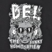 Del The Funky Homosapien - Mind Explosion Men's Hoodie, Black - The Giant Peach