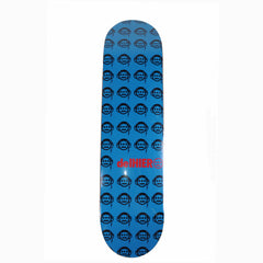 DelHiero Skateboard Deck, Blue with Black (autographed by Del) - The Giant Peach