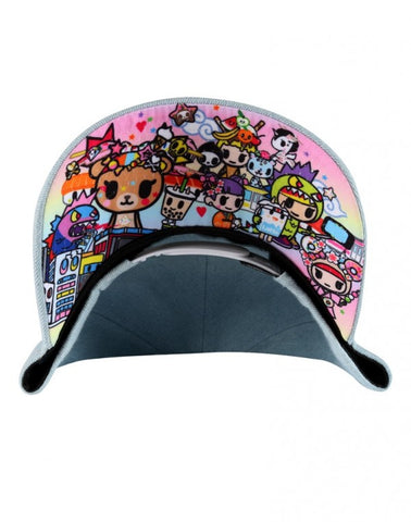 tokidoki - Denim Donut Snapback Hat, Blue