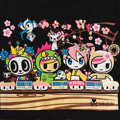 tokidoki - Densha Women's Tee, Black - The Giant Peach - 2