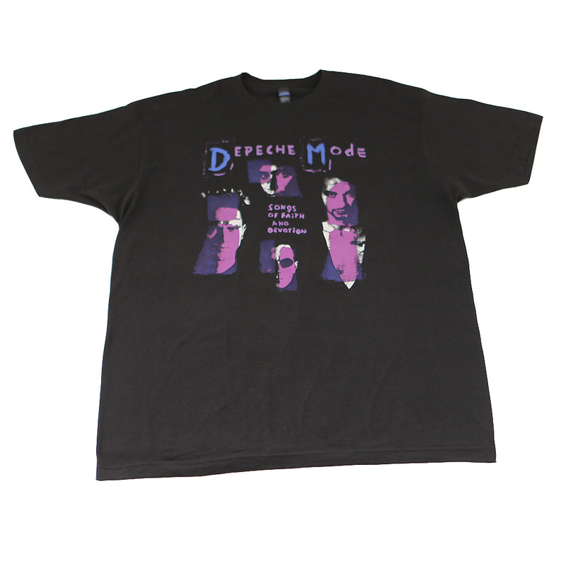 Depeche Mode - Songs of Faith & Devotion Men's Shirt, Black