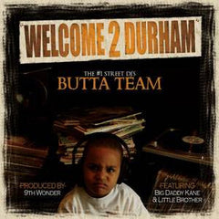 "Butta Team - Welcome 2 Durham, 12"" Vinyl - The Giant Peach"
