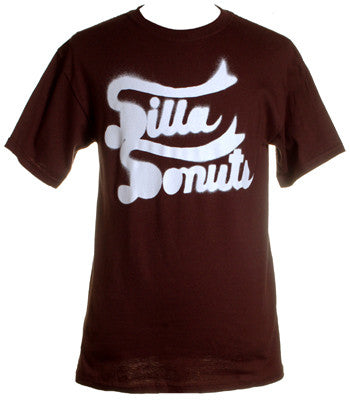 J Dilla - Dilla Donuts Men's Shirt, Brown - The Giant Peach