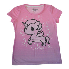 tokidoki -  Dip N Corno Women's Tee, Multi - The Giant Peach