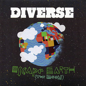 "Diverse - Escape Earth (The Moon), 7"" Vinyl - The Giant Peach"