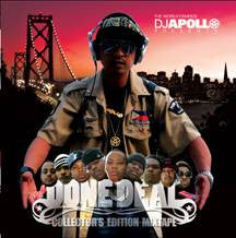 DJ Apollo - Done Deal, Mixed CD - The Giant Peach