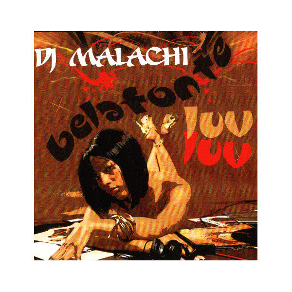 DJ Malachi - Belafonte Luv Luv (2 Disc) Mixed CD - The Giant Peach