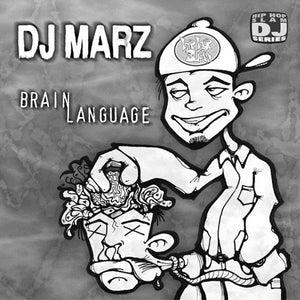 DJ Marz - Brain Language, CD - The Giant Peach
