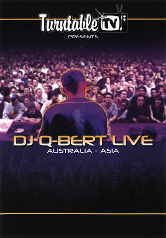 DJ Q-Bert - Live Australia-Asia, DVD - The Giant Peach