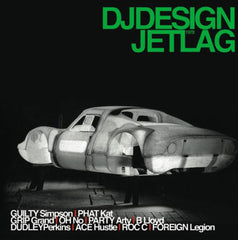 DJ Design - Jet Lag, 2xLP Vinyl - The Giant Peach