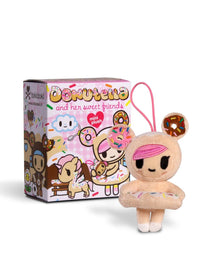 Donutella and her Sweet Friends Mini Plush Collectibles - The Giant Peach