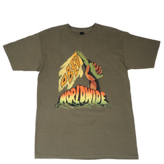 OBEY - Don't Give Up The Fight Men's Tee, Olive - The Giant Peach - 1