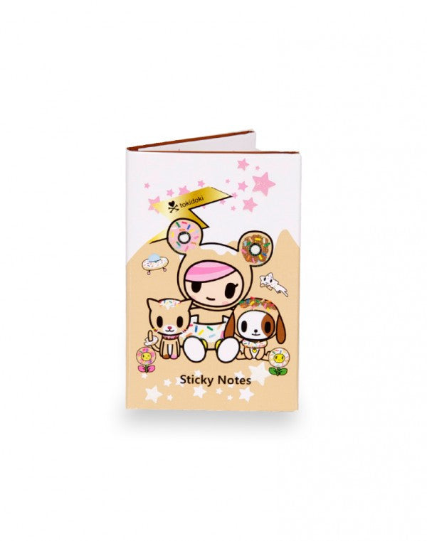 tokidoki - Donutella & Her Sweet Friends Sticky Note Booklet - The Giant Peach - 1