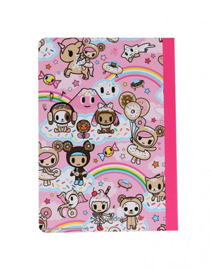 tokidoki - Donutella & her Sweet Friends Notebook - The Giant Peach