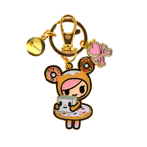 tokidoki  - Donutella Keychain - The Giant Peach